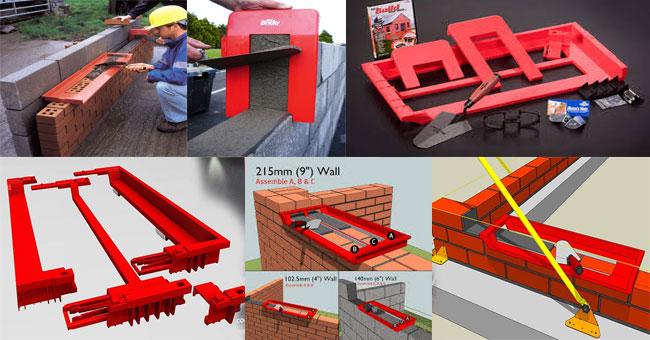Brick Construction Bricky Wall Building Tool Wall