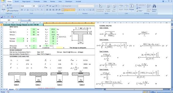 Reinforced Concrete Beam Design Download Beam Design