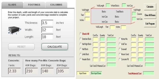 Concrete Slab Calculator : Estimate concrete