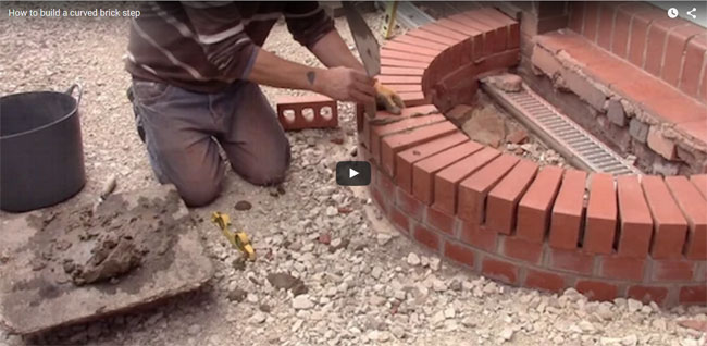 How To Make A Curved Brick Wall