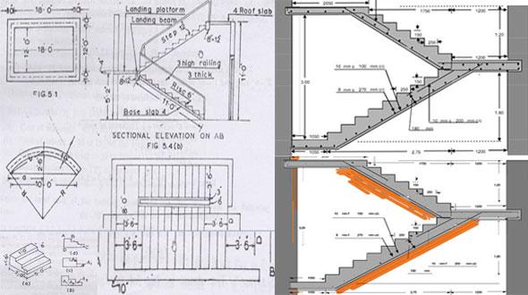 Staircase Estimate Staircase Design Excel Sheet