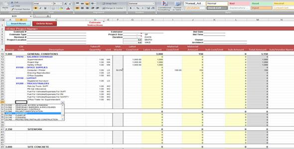 Construction estimating insurance construction estimating for Maxwell construction software