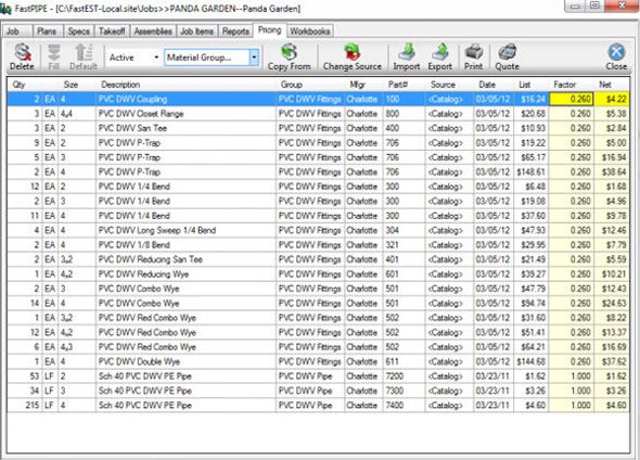 Software For Construction Project Estimation Software