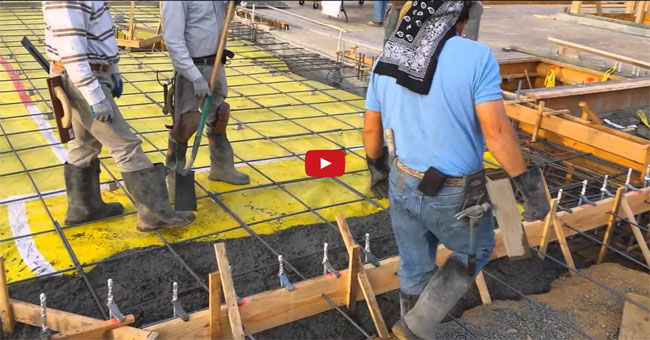 footings and slabs monolithically