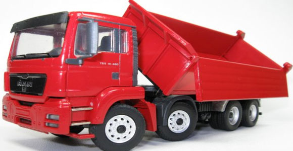 Construction Equipment Side Dump Trucks