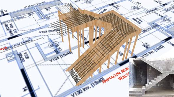 Concrete Stair Formwork Design