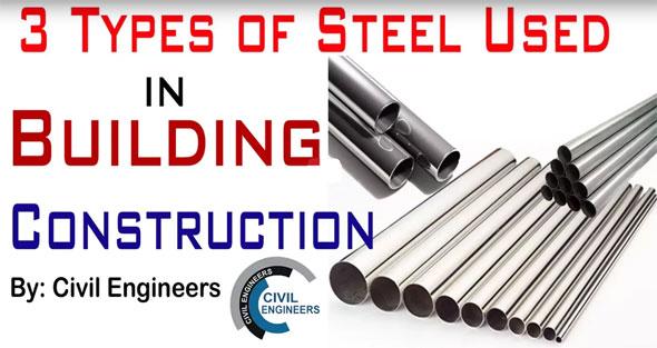 Steel Used In Building Consturction Types Of Steel