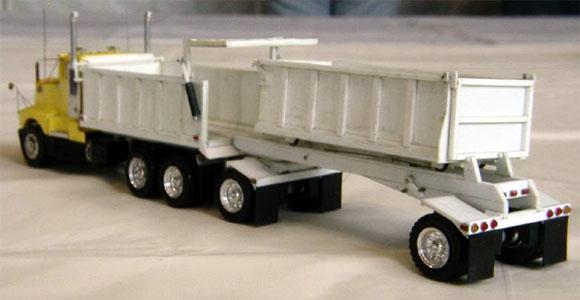 Construction Equipment Transfer Dump Truck