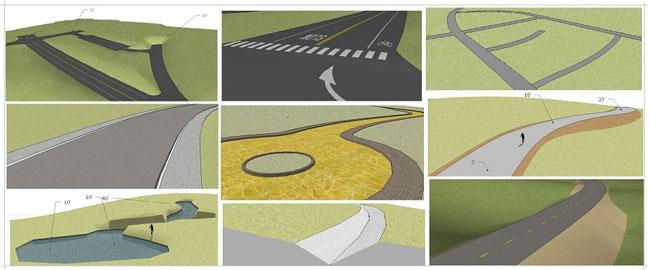 Sketchup Instant Road Nui Plugin 2