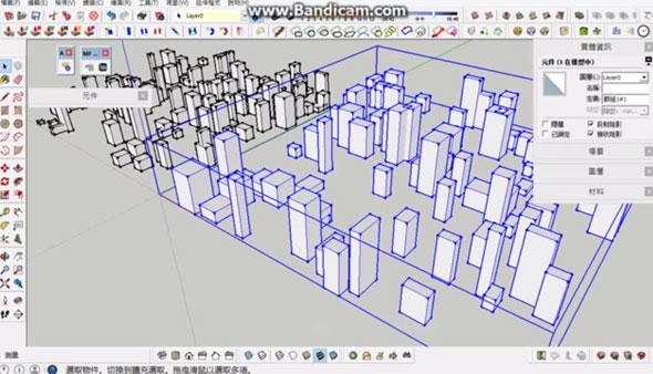 MF random building generator | sketchup extension warehouse