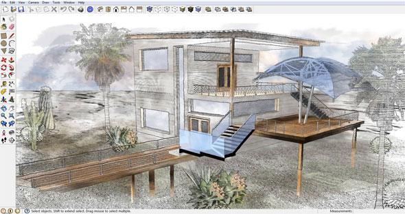sketchup deck plugin