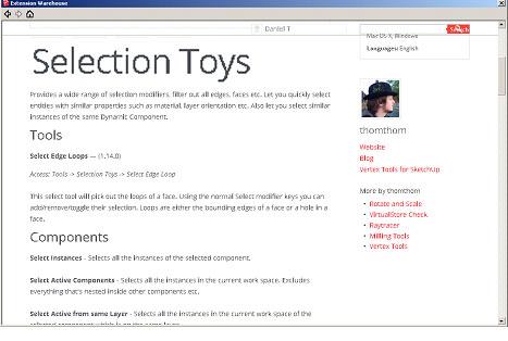 Top 10 SketchUp Extensions, Plugins or Ruby Scripts
