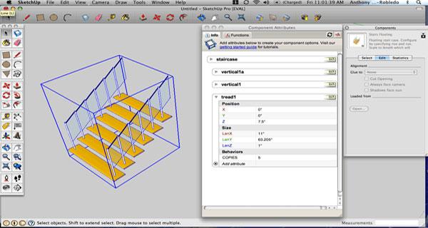 Sketchup Stair Maker Plugin