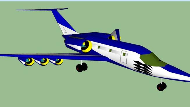 Sketchup Components 3d Warehouse Airplane Sketchup 3d