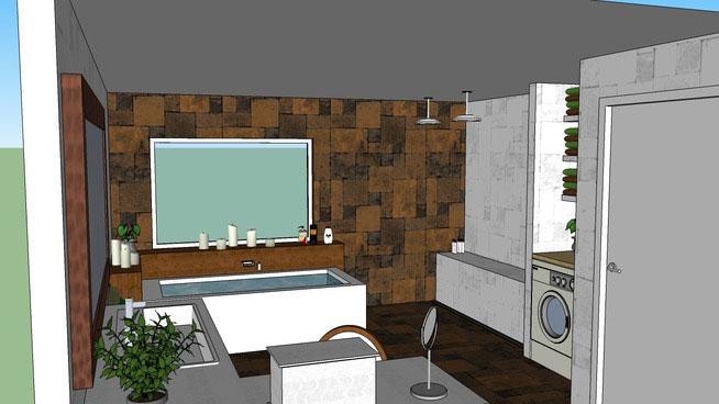 Sketchup Components 3d Warehouse Bathroom 3d Bathroom