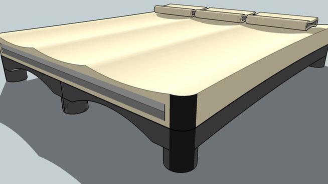Sketchup Components 3d Warehouse Bed Sketchup 3d