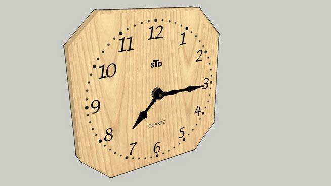 Sketchup Components 3d Warehouse Clock Sketchup 3d