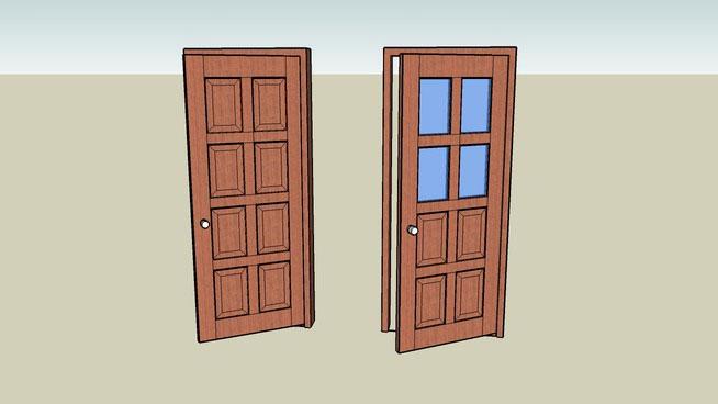 Sketchup Components 3D Warehouse - Door | Sketchup 3D
