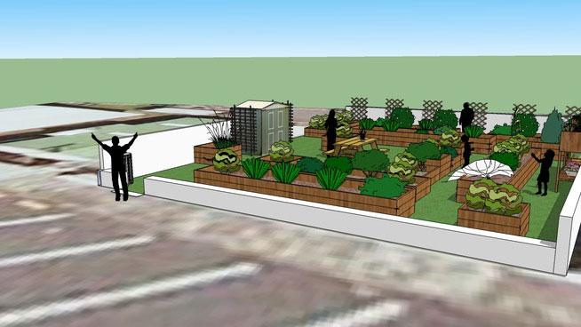 Sketchup Components 3D Warehouse - Garden | Sketchup 3D ...