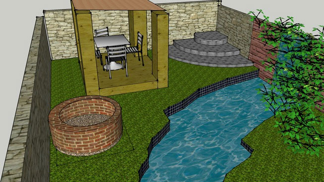 Sketchup Components 3D Warehouse - Pretty Gardens