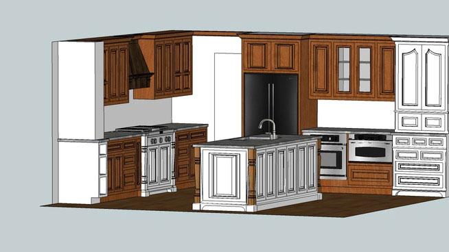 Sketchup Components 3d Warehouse Kitchen Sketchup 3d