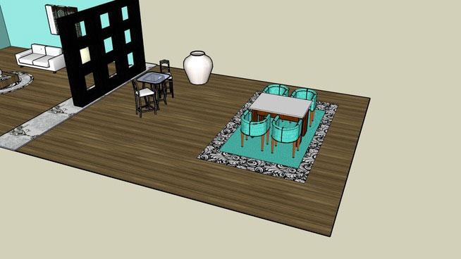 Sketchup Components 3d Warehouse Living Room Sketchup 3d