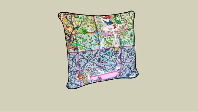 Sketchup Components 3D Warehouse - Pillow by Reka Somogyi 661c4cbe2