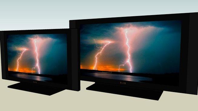 Sketchup Components 3D Warehouse - Television | Sketchup