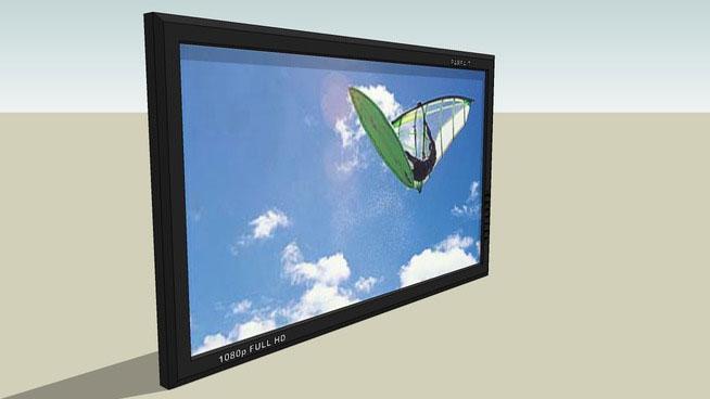 Sketchup Components 3d Warehouse Television Sketchup